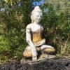 Joyful Big Seated Myanmar Buddha