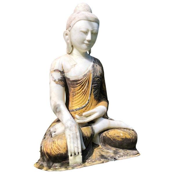 Gilt Garden Buda from Myanmar/Burma