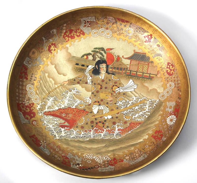 Meiji period Satsuma Charger
