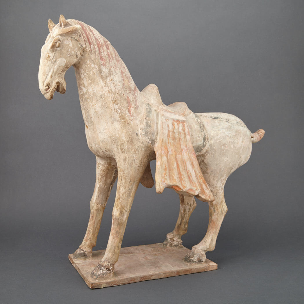 Terracotta Tang Dynasty Horse