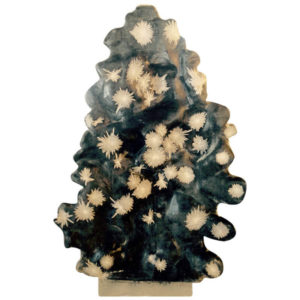 "chrysanthemum crystal sculpture juhuashi ""Starry Nights,"""