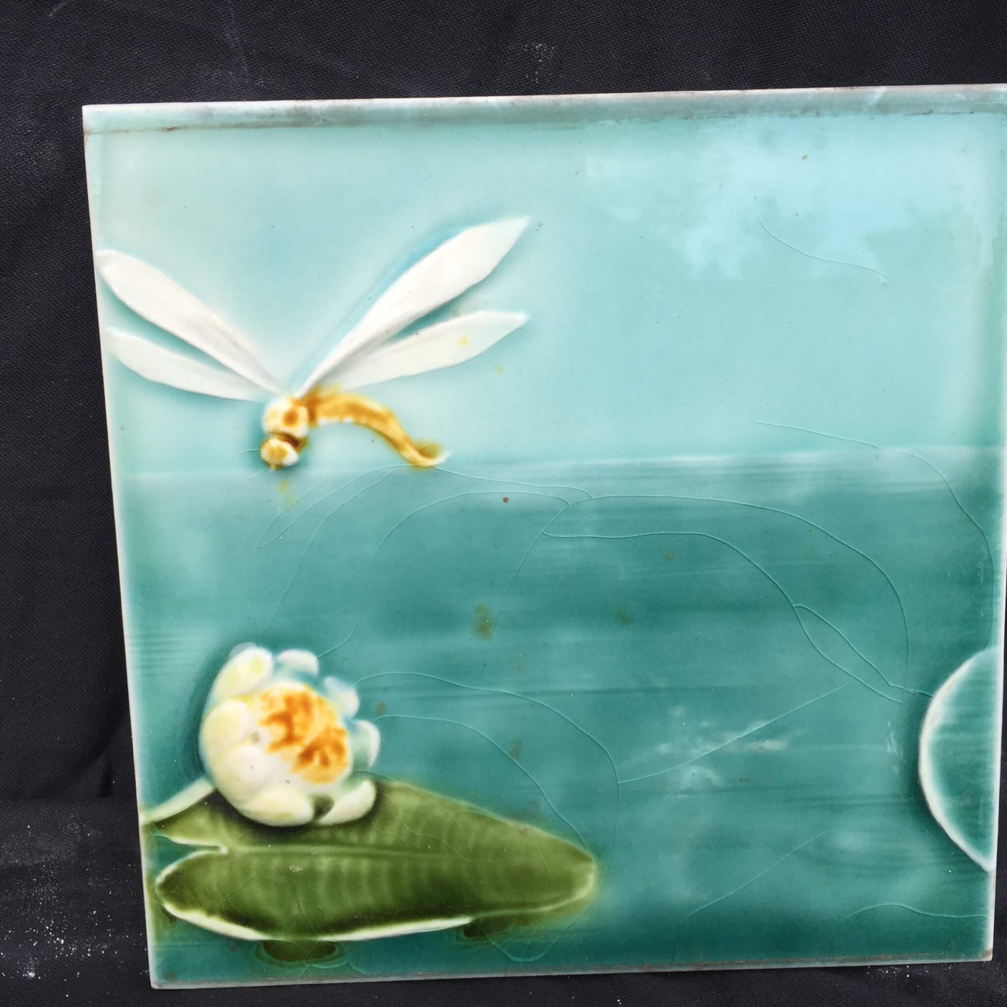 Germany fine collection of three 3 lovely art nouveau ceramic lightbox dailygadgetfo Gallery