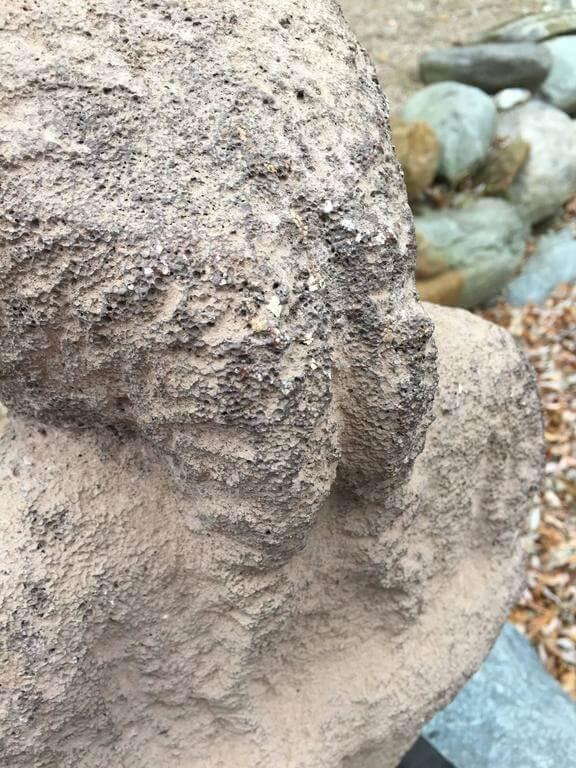 Important ancient hawaiian aumakua stone sculpture