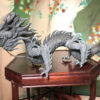 Qing Dynasty Bronze Dragon