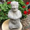 Qing Dynasty Stone Attendant