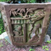 Antique Carved Planter basin