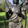 Tall Bronze Kanon Guan Yin