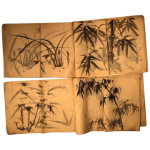 bamboo and grasses paintings album