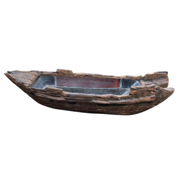boat display for flowers or sushi