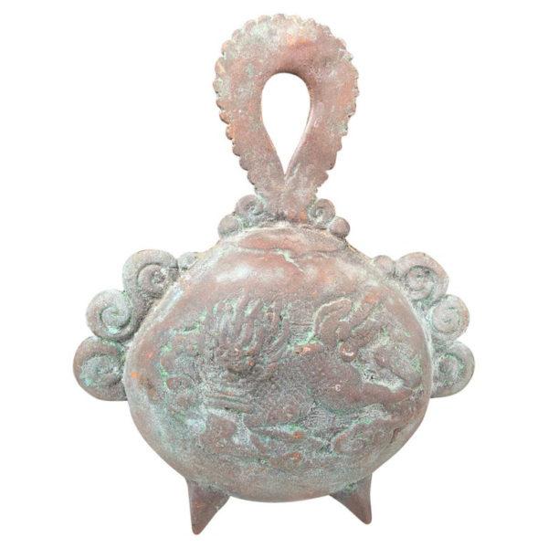 bronze tea ceremony hand bell