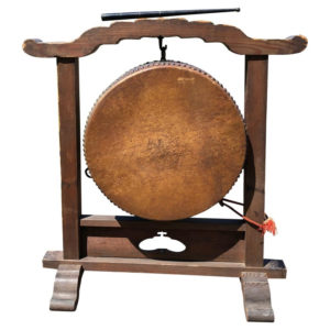 Gong Drum on Stand