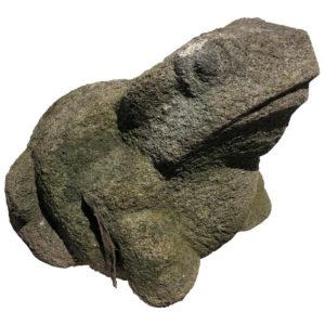 Old Stone Garden Frog