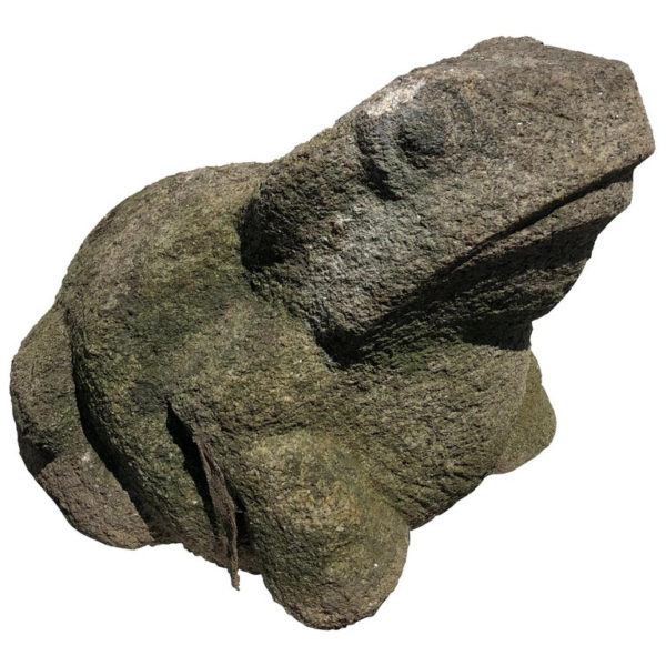 Old Stone Garden Frog