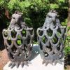 Eagle garden lanterns