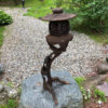 Tree form tea garden lantern
