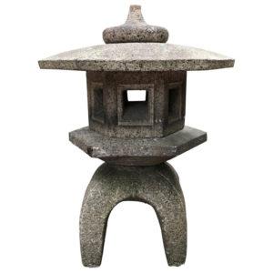 Antique Yukimi Tea Garden Lantern
