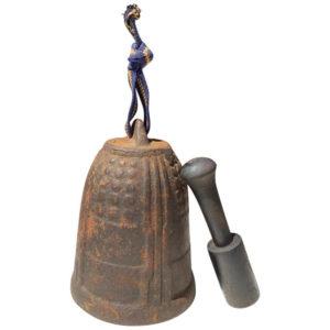 Medium temple bell and striker