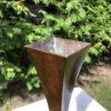 Bronze Koshun Bud Vase