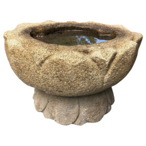 Lotus Bowl on Stand