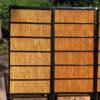 Black Lacquer Shoji Doors Screens Birds & Bamboo