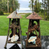 Butterfly & Dragonfly Art Nouveau Lanterns