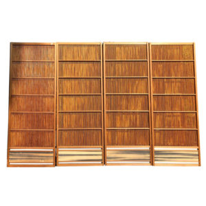 Natural Shoji Bamboo Doors Screens, Moon Horizon