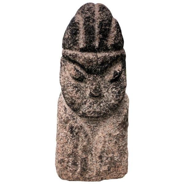 Stone Human Effigy Sculpture