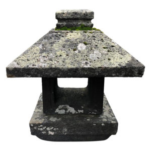 Japan Antique Arts & Crafts Stone Lantern, 19th Century
