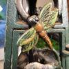 """rt Nouveau """"Dragonfly"""" Lantern,"""