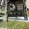 "Antique Cast Bronze ""Birds Birds"" Lantern Extraordinary Details"