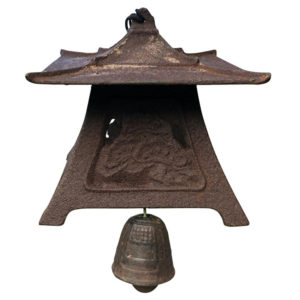 Japanese Large Old Lantern Wind Chime