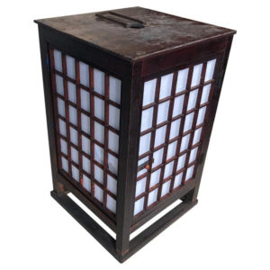Natural Lacquer Andon Floor Lamp