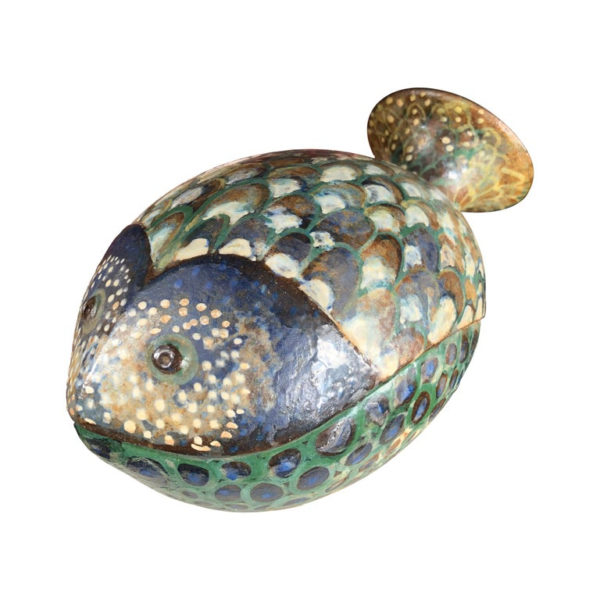 Eva Fritz-Lindner Blowfish Sculpture