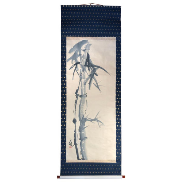 """Beautiful Bamboo"" Fine Hand Painted Scroll Signed"