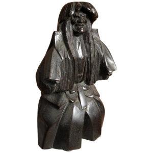 Antique Bronze Kabuki Actor