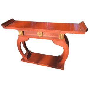 Shinto Red Lacquered Altar Table