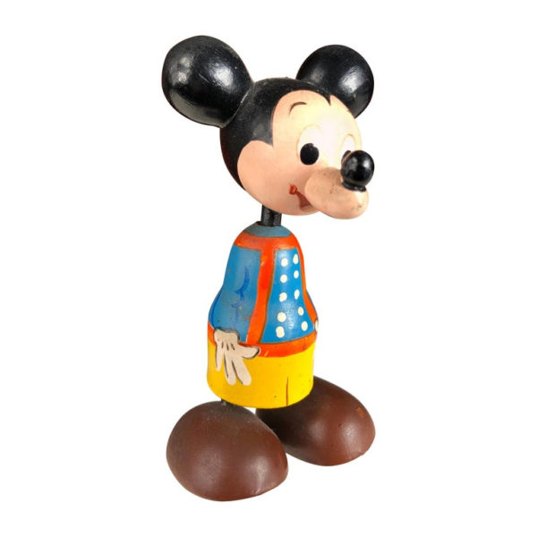 """Authentic Old """"MICKEY MOUSE"""" Disney Kokeshi Doll"""