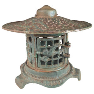 """BIRDS BONSEI & FLOWERS"" Flower Garden Lantern"