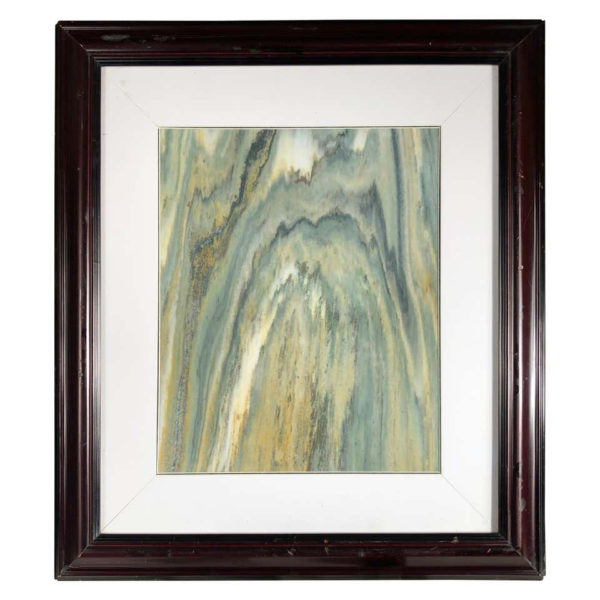 """Chinese Green Mountains Extraordinary Natural Stone """"Painting"""""""