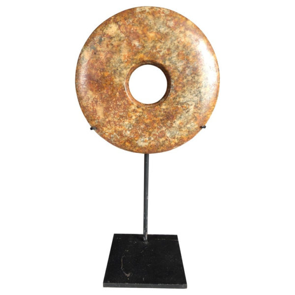 Ancient Chinese Heavenly Jade Bi Disc