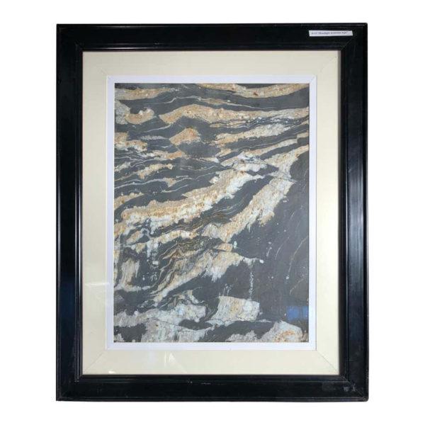 "China Moonlight Mountain Peak Extraordinary Natural Stone ""Painting"""