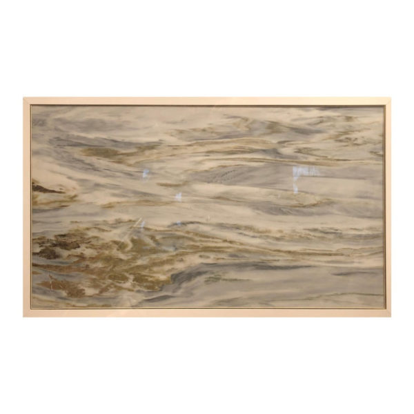 """Restless Ocean Waters Extraordinary Natural Stone """"Painting"""""""