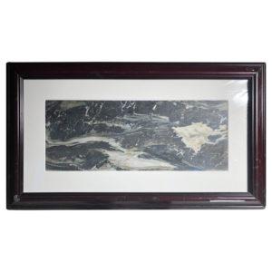 "ater & Rock Shoreline Extraordinary Natural Stone ""Painting"""
