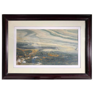 "Chinese SWIRLING CLOUD VISTA Extraordinary Natural Stone ""Painting"""