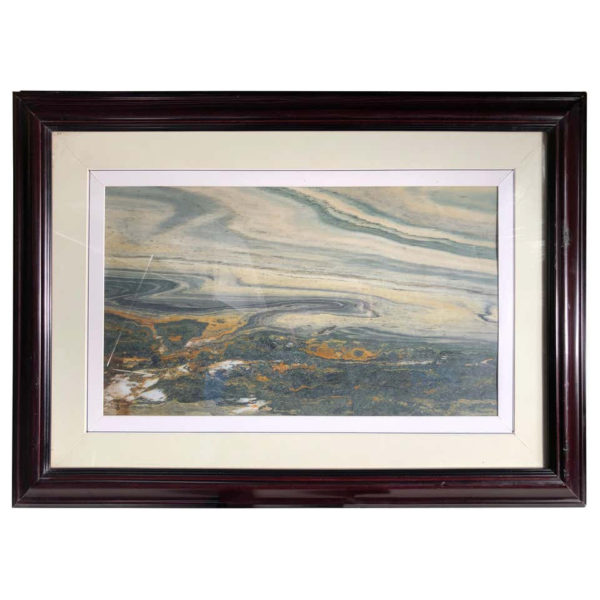"""Chinese SWIRLING CLOUD VISTA Extraordinary Natural Stone """"Painting"""""""