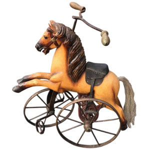 Antique American Horse Tricyle