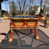 Japanese Antique Red Lacquer & Gold Gilt Display Altar Table