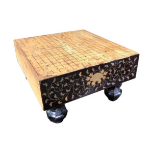 Japanese Antique Miniature GOBAN Game Table