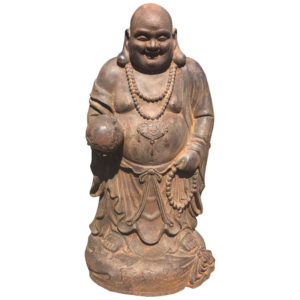 Joyful Buddha Sculpture