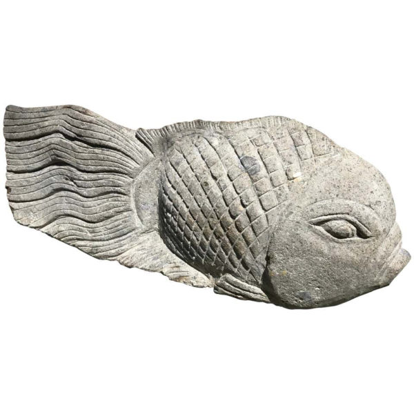 Big Fish Sculpture for Home, Garden, or Nautical Space